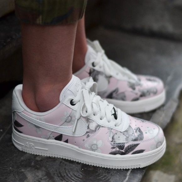 Nike Air Force 1 LXX Summit White Flowers AUTHENTI